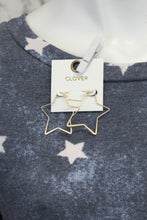 Matte Star 1In Earrings E-948