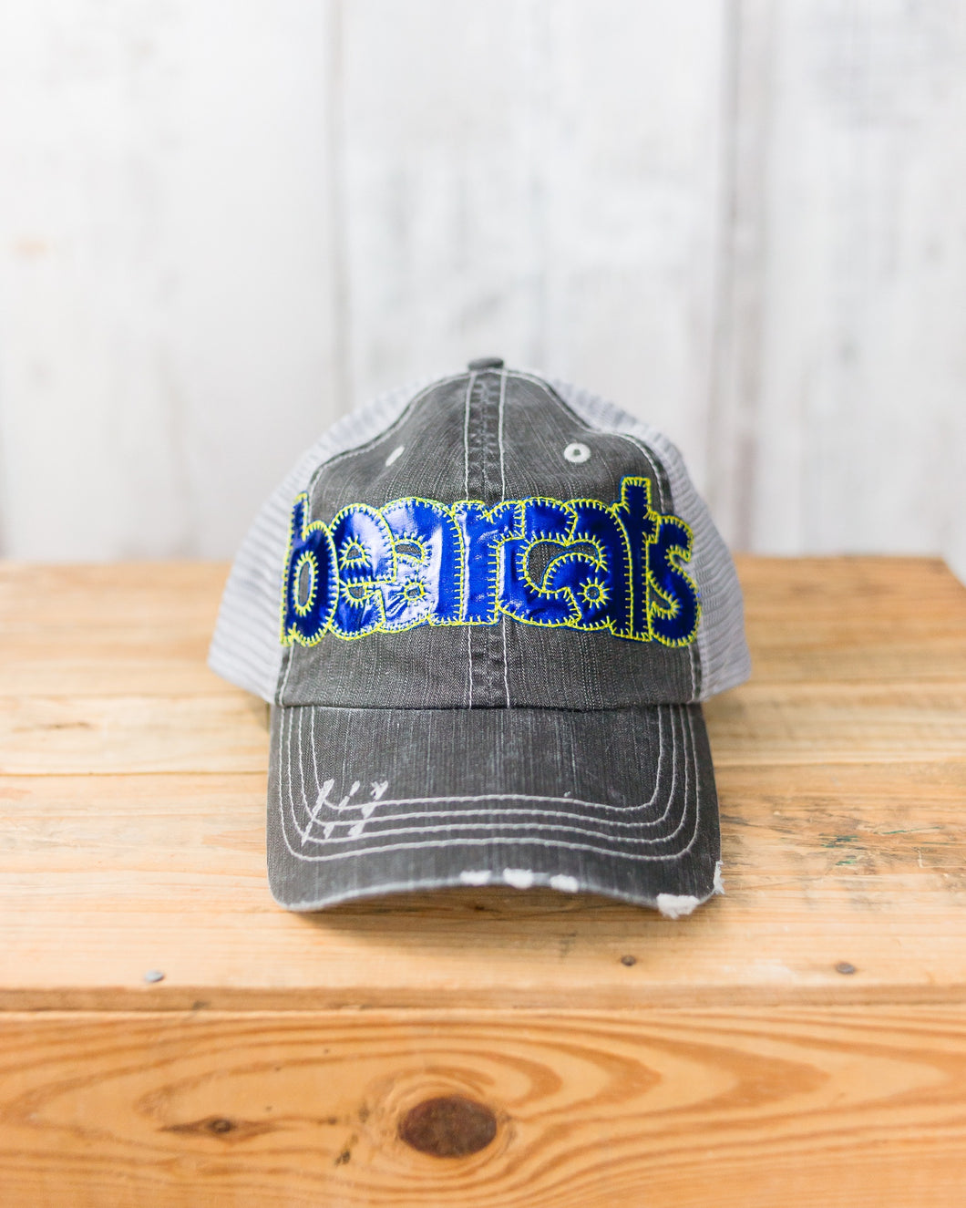 WAD Bearcats Applique Cap