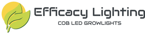 Efficacy Lighting COB LED Grow lights for Hydroponics