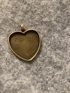 Heart Necklace Blank