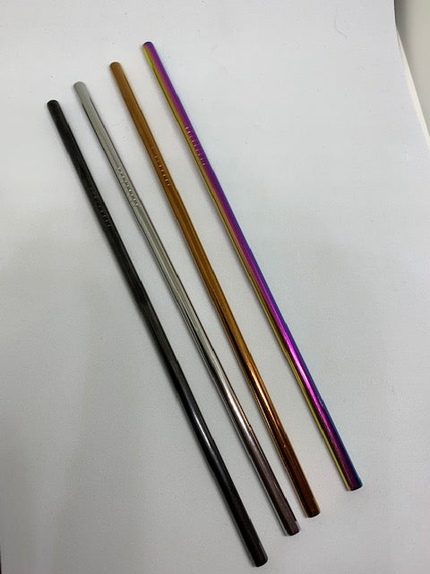 Stainless Steel Straight Straws