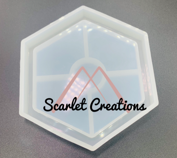 Hexagon Coaster Mold