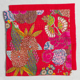 100% Cotton Cushion Covers from Jaipur-Red - Exotic Homewares