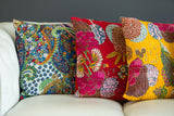 100% Cotton Cushion Covers from Jaipur-Gold - Exotic Homewares