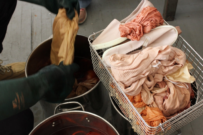 Dyeing With Onion Skins Workshop