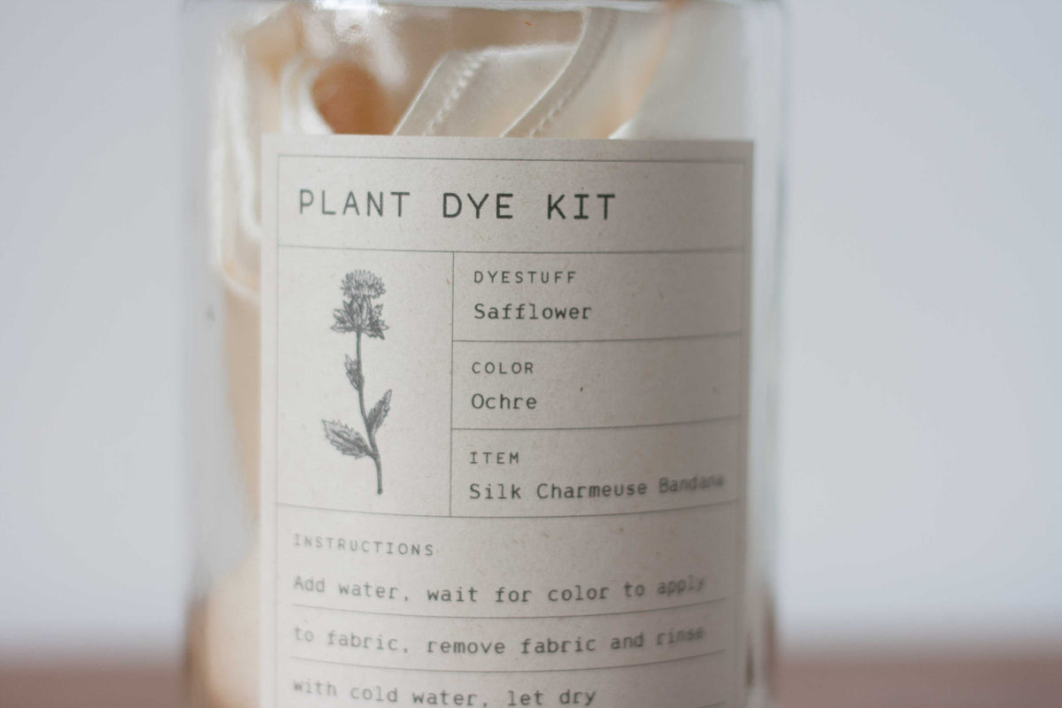 Plant Dye Kit - Safflower