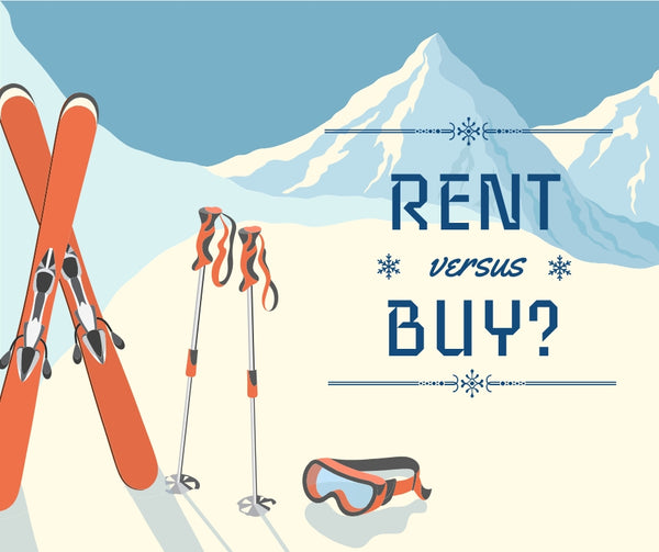 Rent or buy skis