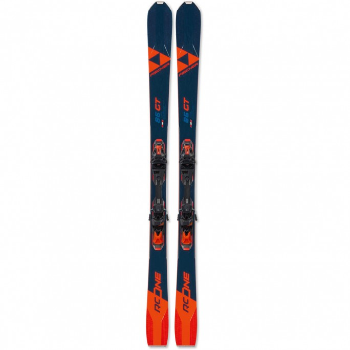 Fischer RC ONE 86 GT Skis w/ RSW 12 GW Powerrail Binding
