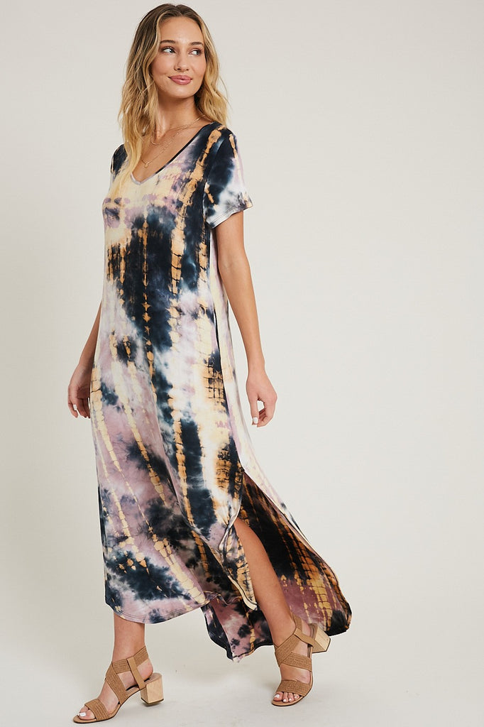 Tie Dye Maxi - Adorn Boutique in Mitchell