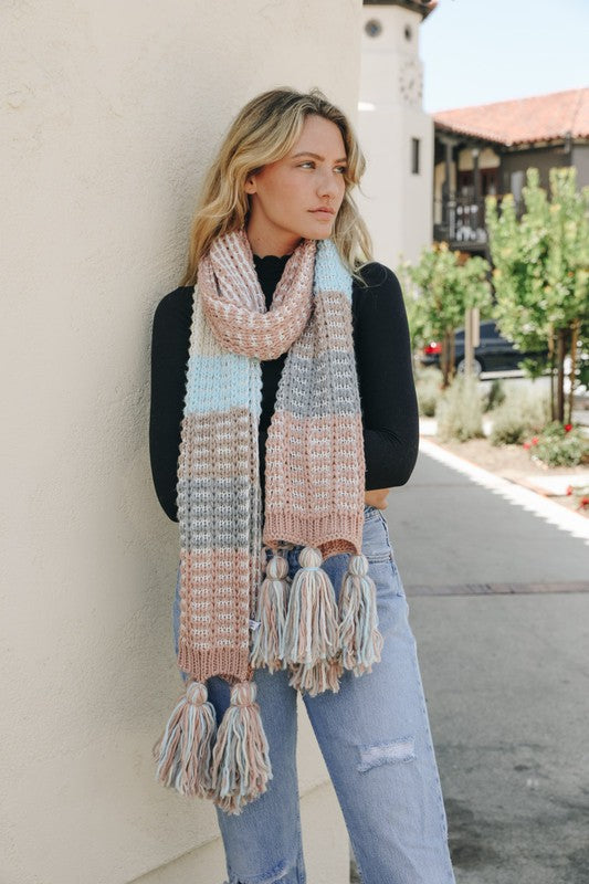"""Misty Morning"" Oversized Scarf"