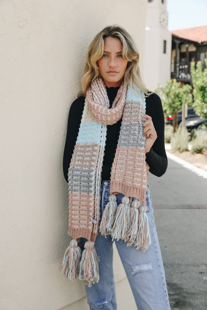 """Misty Morning"" Oversized Scarf - Adorn Boutique in Mitchell"
