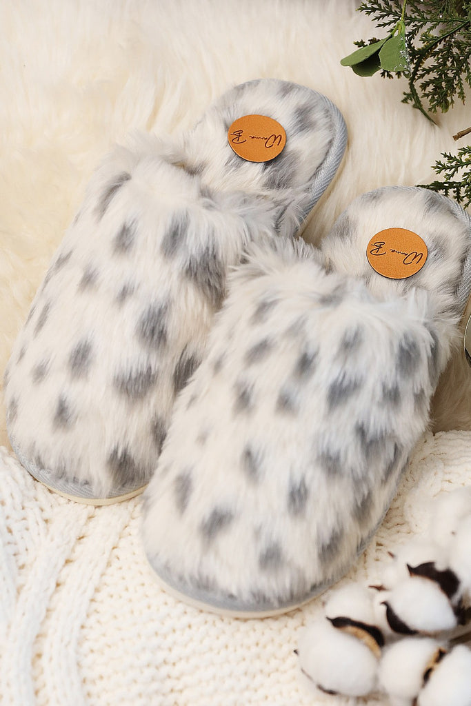 Full Front Cheetah Slippers - Adorn Boutique in Mitchell