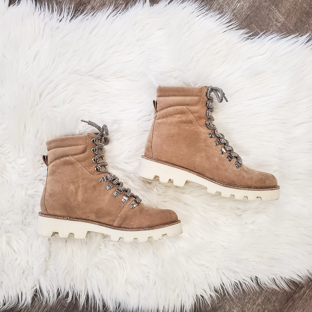 khaki hiking boot - Adorn Boutique in Mitchell