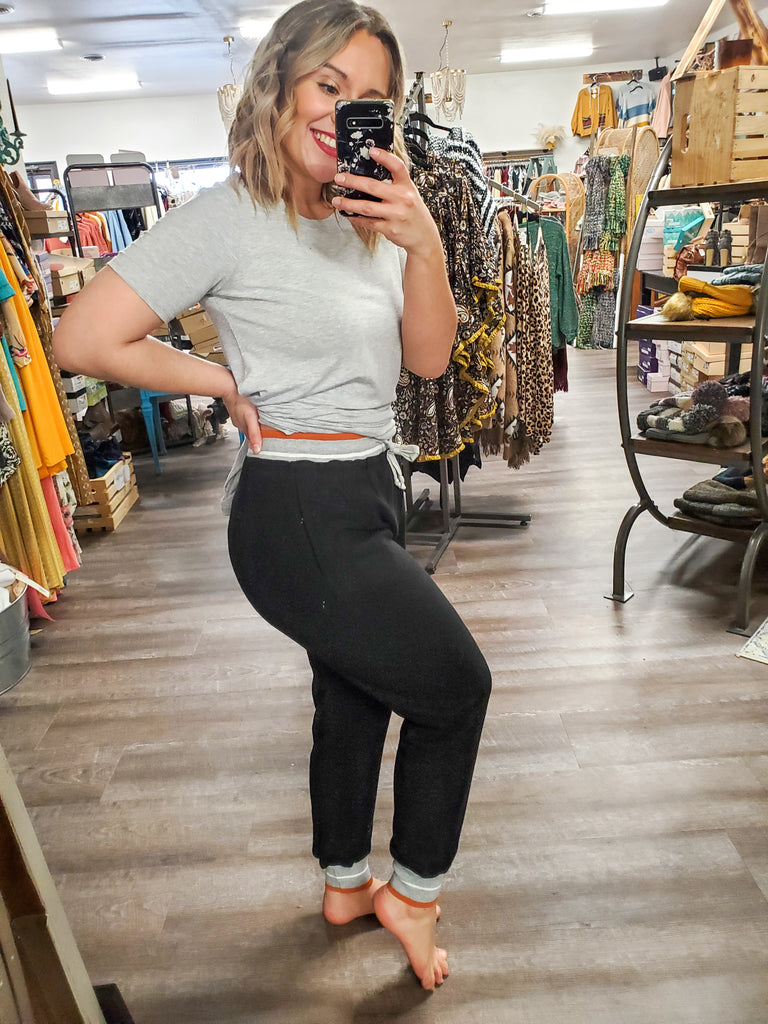Hacci Joggers - Adorn Boutique in Mitchell