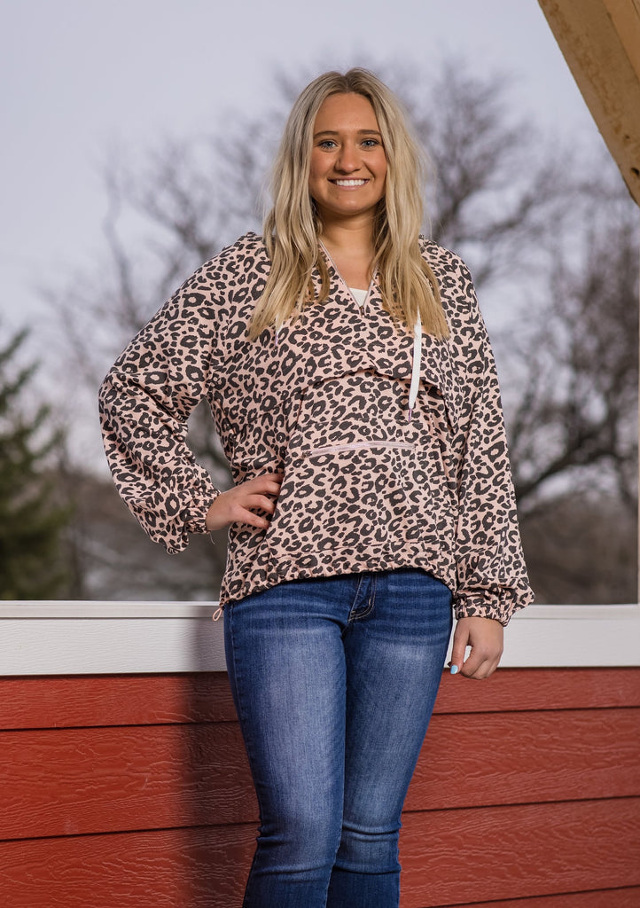 Leopard Print Pullover - Adorn Boutique in Mitchell