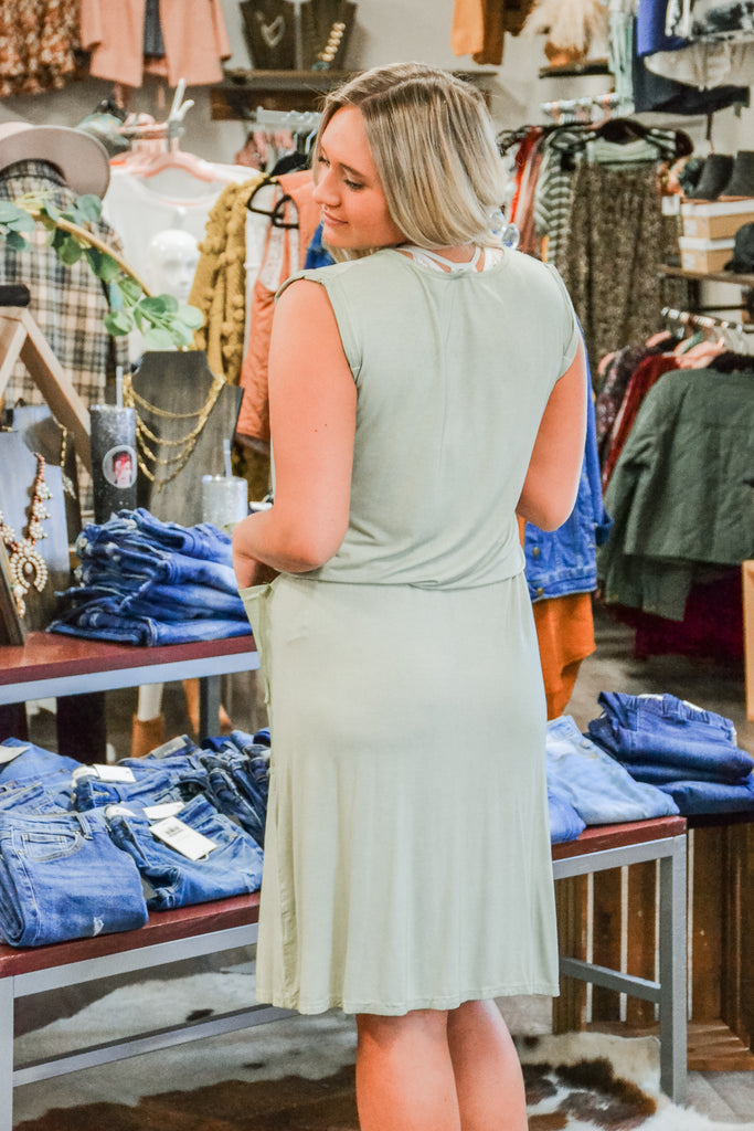 T-Shirt Dress - Adorn Boutique in Mitchell