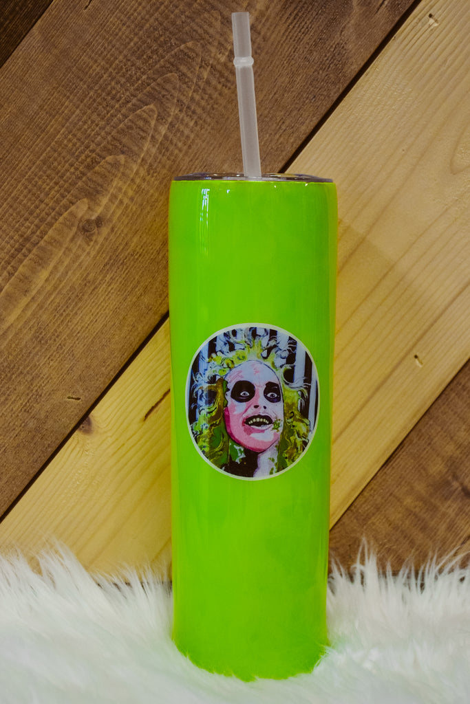 Beetle Juice Lacey Eidem Tumbler - Adorn Boutique in Mitchell