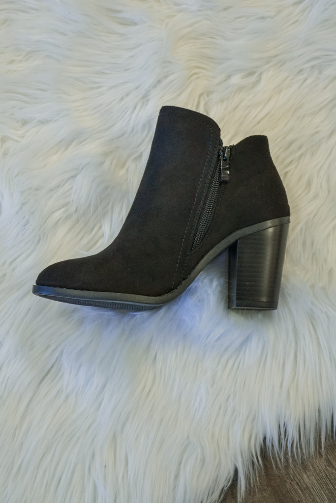 Fall bootie Black