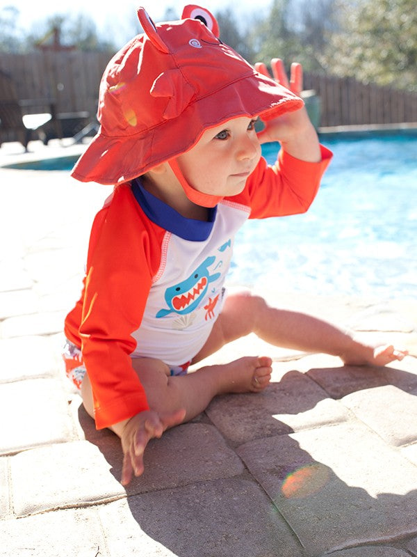 Deep Sea Mates Baby Swim Rashguard