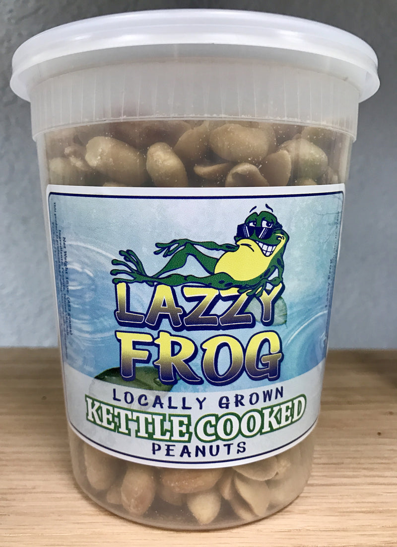Lazzy Frog Kettle Roasted Peanuts