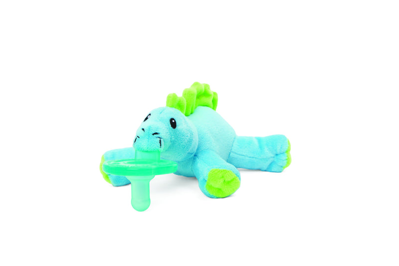 WubbaNub Baby Dino Brights Pacifier - Box