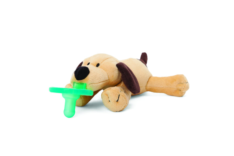 Wubbanub Brown Puppy Pacifier - Box