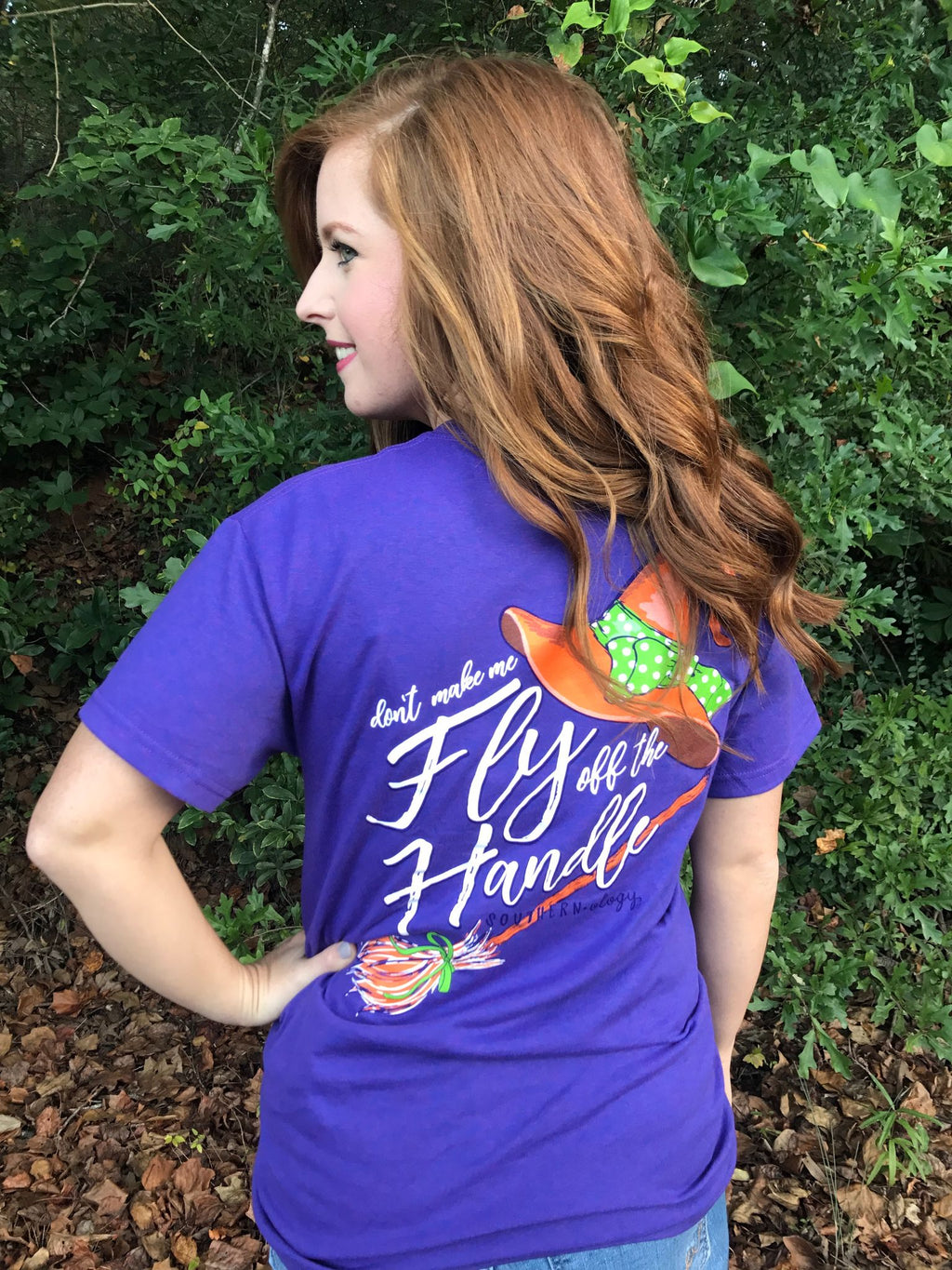 Southernology Fly Off the Handle Halloween T Shirt
