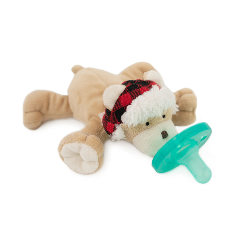 WubbaNub Wooley Bear Pacifier - Box