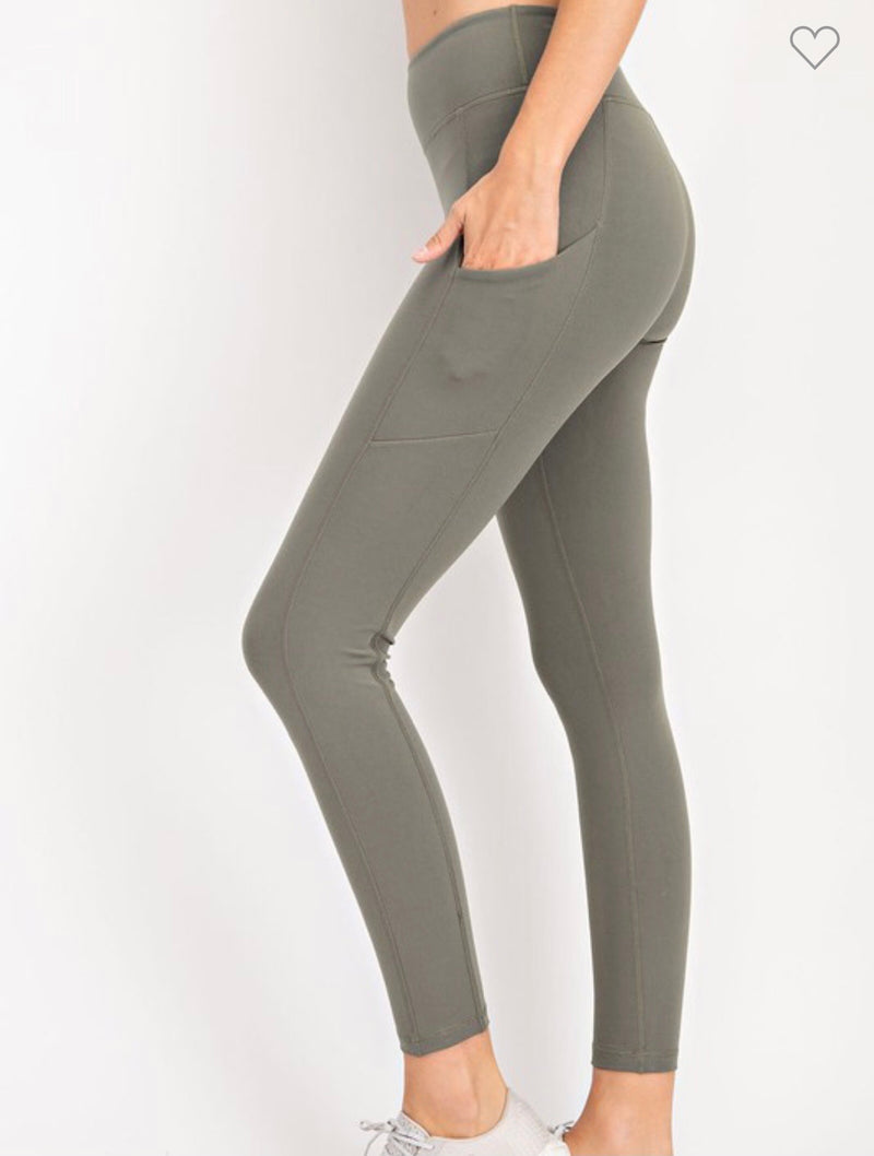 Yoga Pocket Full Length Leggings
