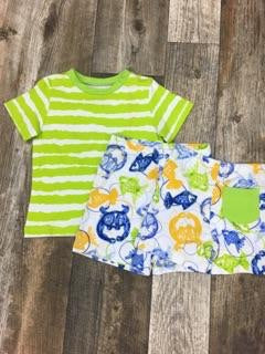 Fishy and Sassy Boys T-shirt and Short set