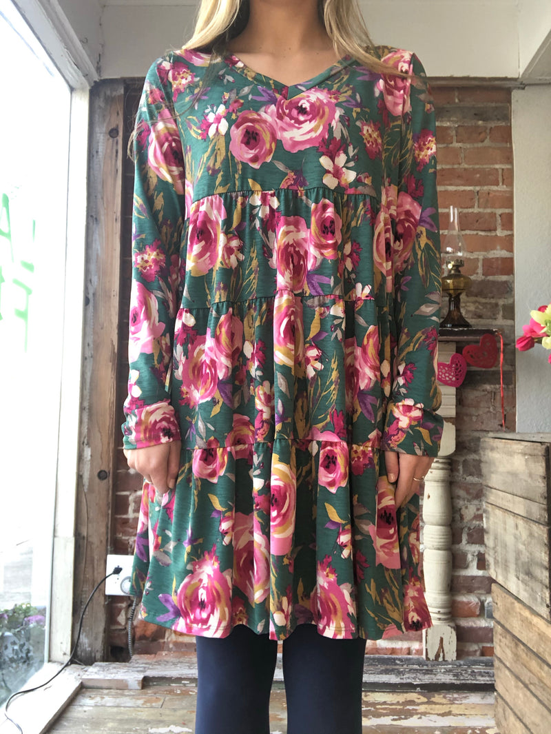 SIL Floral Dress