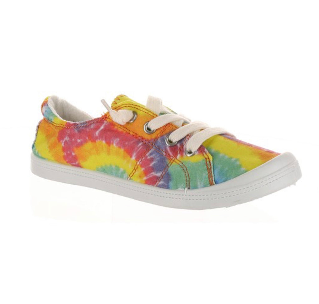Tie Dye Comfy Slip on Sneakers