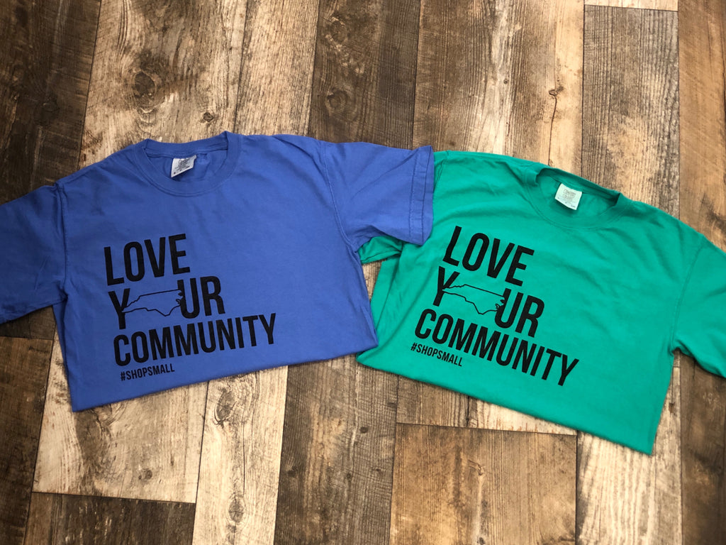 Love Our Community T Shirts