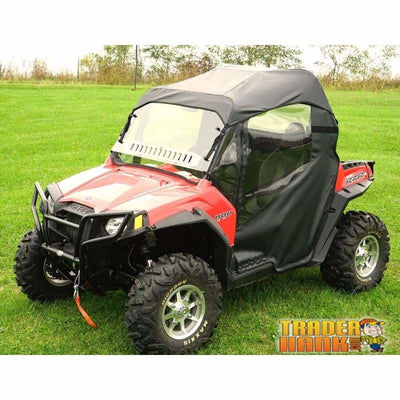 2011-2014 Polaris Rzr 570 Full Cab Enclosures With Aero-Vent Front Windshield | Utv Accessories - Free Shipping