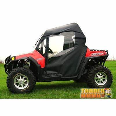 2011-2014 Polaris Rzr 900 Full Cab Enclosures With Aero-Vent Front Windshield | Utv Accessories - Free Shipping