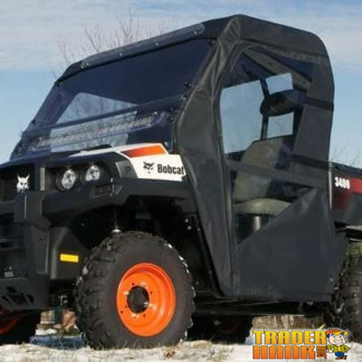 2011-2015 Bobcat 3400 Full Cab Enclosure Without Windshield | Utv Accessories - Free Shipping