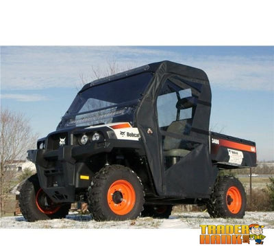 2011-2015 Bobcat 3400 Full Enclosure With Folding Hard Windshield | Utv Accessories - Free Shipping