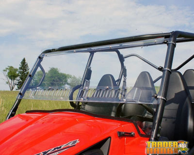 2014-2015 Kawasaki Teryx 800 Aero-Vent Windshield | Utv Accessories - Free Shipping