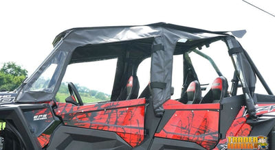 2014-2018 Polaris RZR 4 Full Enclosure with Aero-Vent Lexan Windshield | UTV ACCESSORIES - Free Shipping