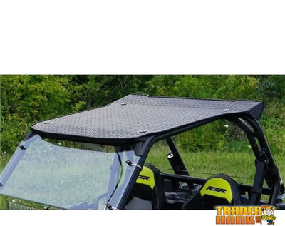 2015-2018 Polaris Rzr 900/900 S Aluminum Diamond Plate Hard Top | Utv Accessories - Free Shipping