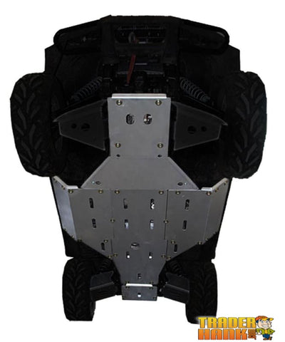 Arctic Cat Prowler 700 HDX Ricochet 5-Piece Full Frame Aluminum Skid Plate Set | Ricochet Skid Plates - Free Shipping