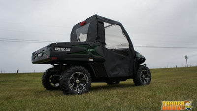 Arctic Cat Prowler (Round Tube Frame) Soft Door Rear Window Combo | UTV ACCESSORIES - Free Shipping