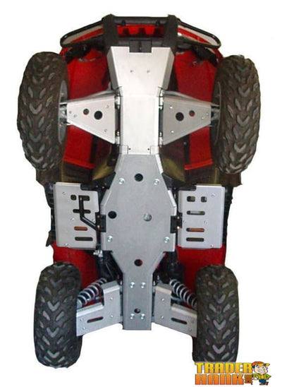 Arctic Cat TRV 450 Ricochet 8-Piece Complete Aluminum Skid Plate Set | Ricochet Skid Plates - Free Shipping