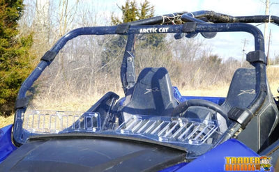 Arctic Cat Wildcat Trail Aero-Vent Polycarbonate Windshield | UTV ACCESSORIES - Free Shipping