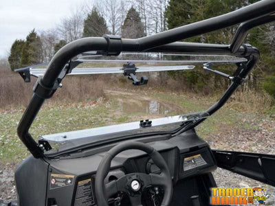 Arctic Cat Wildcat Trail Scratch Resistant Flip Windshield | Utv Accessories - Free Shipping