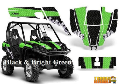 Can-Am Commander Diamond Race Graphics Kit | UTV ACCESSORIES - Free Shipping