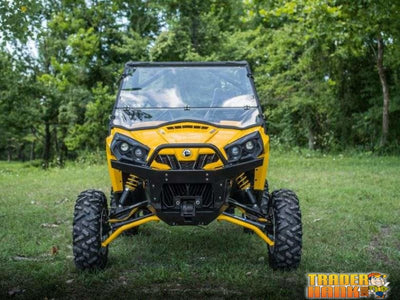 Can-Am Commander Scratch Resistant Flip Down Windshield | SUPER ATV WINDSHIELDS - Free Shipping