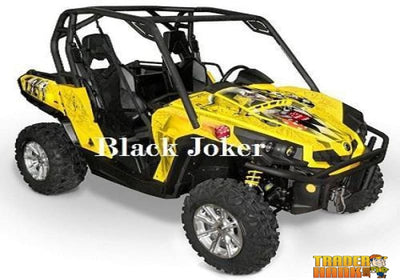 Can-Am Commander The Joker Graphics Kit | UTV ACCESSORIES - Free Shipping