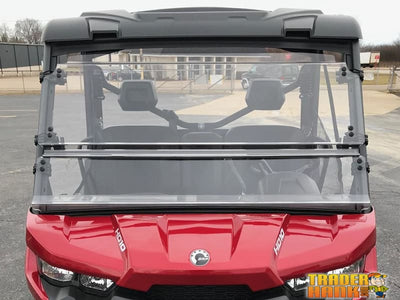 Can-Am Defender Full Tilting Scratch Resistant Windshield | UTV ACCESSORIES - Free shipping