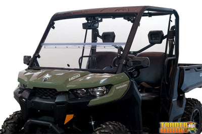 Can-Am Defender Versa-Fold (UV Resistant Poly) Windshield | UTV ACCESSORIES - Free shipping